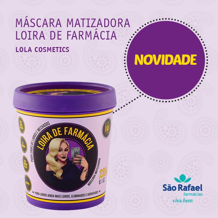 MASCARA MATIZADORA LOIRA DE FARMÁCIA LOLA