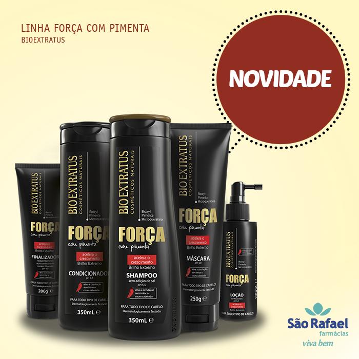 LINHA FORÇA COM PIMENTA BIO EXTRATUS